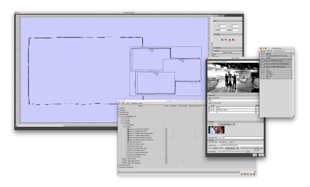 Korsakow6 screenshot